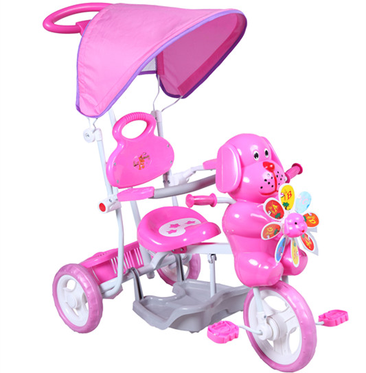 Hot sale kids tricycle/wtih outdoor canopy and pedal baby tricycle/colorful design tricycle