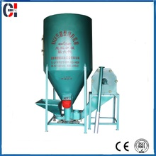 Qualified easy operation small animal feed grinder and mixer