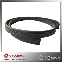 10 x 2mm Anisotropic Extrusion Rubber Magnetic Strip