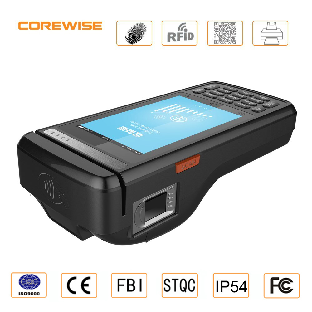 Cheap mobile 58mm thermal receipt printer pos machine handheld with solution