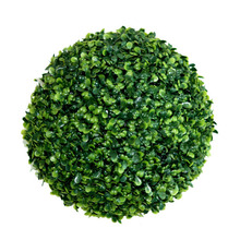 Artificial topiary hanging grass boxwood ball garden decoration plants