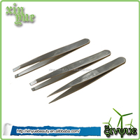 high quality eyebrow tweezers ceramic tweezers eyelash extension tweezers