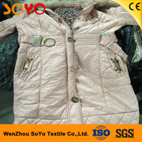 All sizes types korean second hand clothes used clothing heavy winter clothing