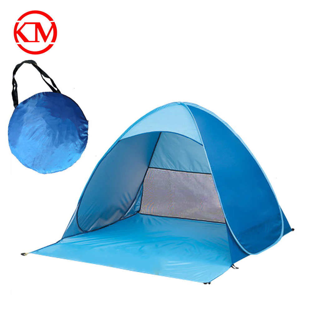 2017 New arrival family camping folding outdoor pop up beach tent