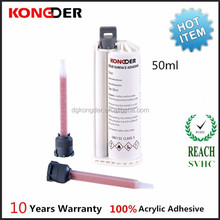 Kongder 50ML Solid Surface Adhesive, Two Component Adhesive, Acrylic Adhesive