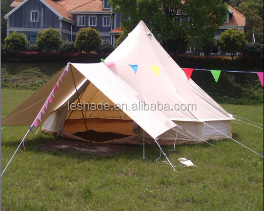 Leshade Tent Factory Canvas Bell Tent Large Tent 6M 7M