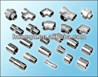 SS304, SS316, SS316L high pressure Stainless Steel Fittings, SW, BW, THREADED