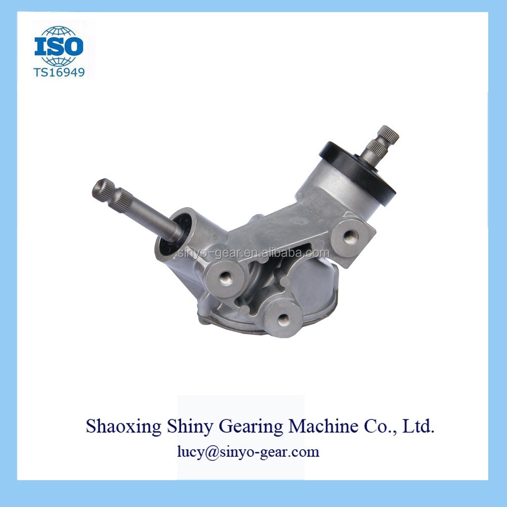 Car Spiral Bevel Gear Steering Box Made by Shiny Machine