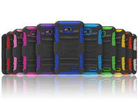 Belt clip hybrid cell phone cover the newest phone case for lg l70