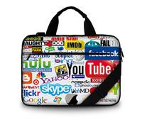 New Fashion Women Girls Laptop Shoulder Bag Business Handbag Notebook Bag For Macbook Pro 13'' 13.3''15.6