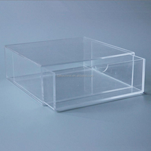 customized clear acrylic shoes box display