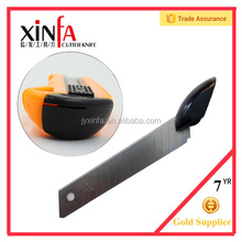 Good feeling cutter knife ,stationery utility knife with cutter blade
