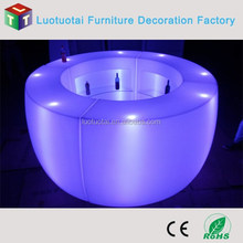 Modern Fashion glowing furniture RGB color led bar counter