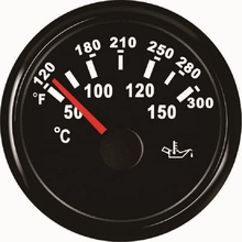 Universal Car Truck Boat 52mm Oil Temperature Gauge <strong>Meter</strong> 50-150degree