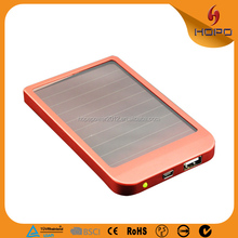 China electronic items innovative new products travel charger 2600mah powerbanks solar charger power bank
