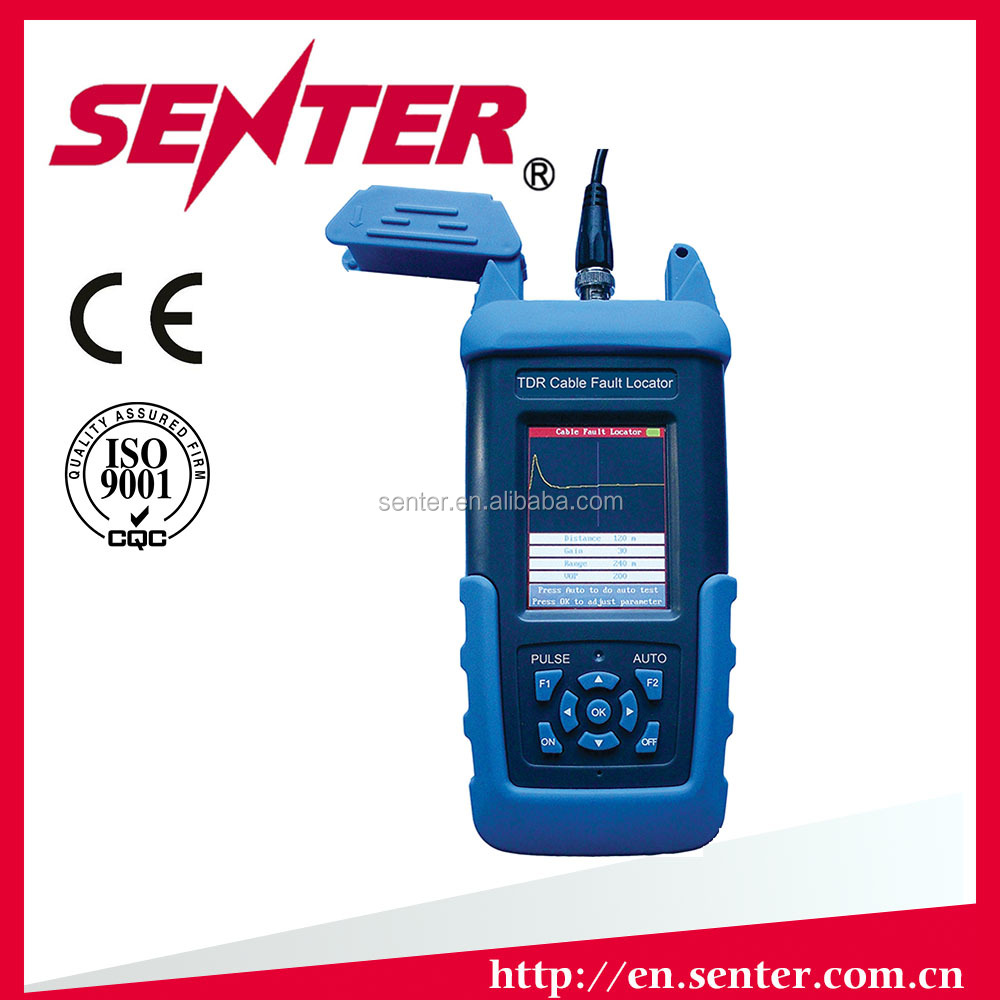 Cable test instrument ST612 Hand-held TDR Cable Fault tester tdr SENTER Telecom testers