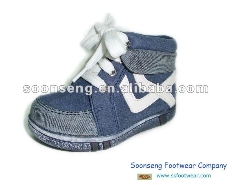 High heel shoes for children, long fashion shoes for boys
