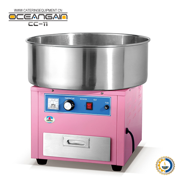 CC-11 Commercial Electric Pink Flower Cotton Candy Floss Maker Machine