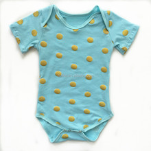 2015 new designs colorful newborn spring aqua body suit baby clothes