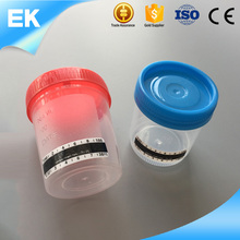 Hospital 120ml Disposable Sterile Plastic Urine Container
