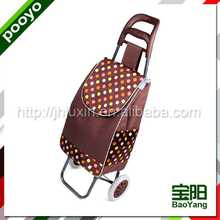 foldable grocery shopping cart insulated lunch bag with bottle holder
