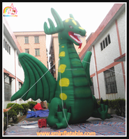 High quality giant inflatable dragon,outdoor inflatable dragon promotional model,large cartoon inflatable advertising