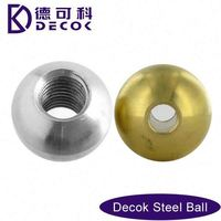 Stainless Steel Balls SGS304/6mm drilled stainless steel solid ball /beads with hole