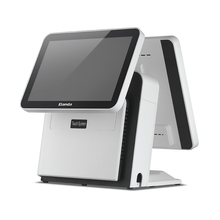 Hot sell electronic cash register machine / dual screen retail pos system
