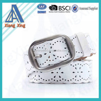 First layer cowhide leather belts for women vintage
