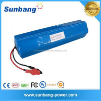 high quality 3S6p 12v rechargeable lithium battery with 110v dc battery charger for flashlight led torch