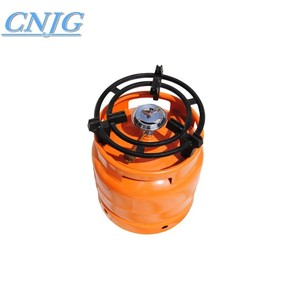Factory Supply 6kg gas cylinder with gas grill