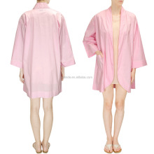 Girls Women Pink Stain Classic Sleeping Robes Wholesale Custom Manufacturer China Clothing Apparel Agent