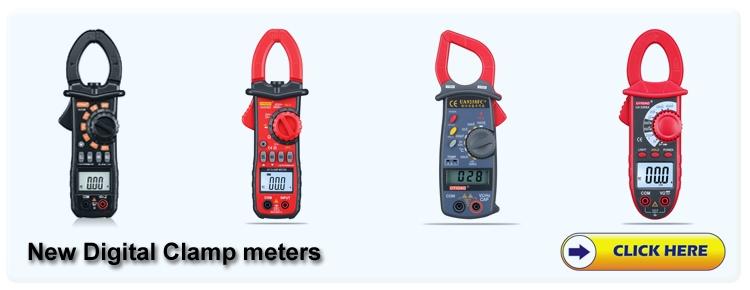 EBay hot sale high performance intelligent digital Multimeter DMM