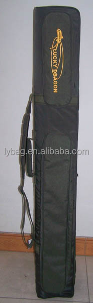 fishing rod bag with built-in plastic board