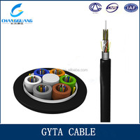 Low dispersion and attenuation ALP GYTA submarine cable