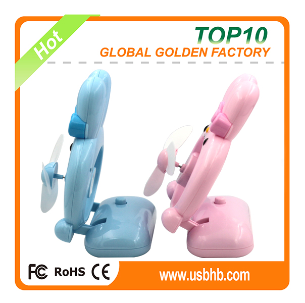 Popular animal usb fan rabbit usb fan for summer