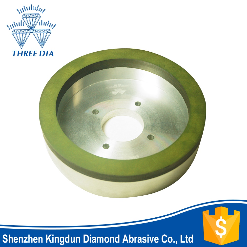 50mm diameter 6A2 resin bond diamond grinding cup wheel