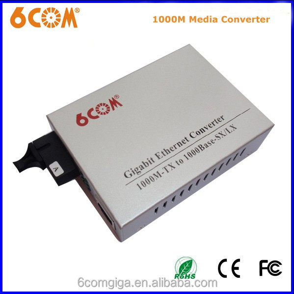 550m+ Dual Fiber Ethernet To RJ45 Optical Media Converter