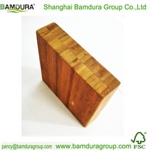 cheap decorative solid bamboo square plate