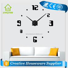 FY1001-09 Large Digital Wall Clock/ Wall Clock Different Shape/ Wall Clock Big Size