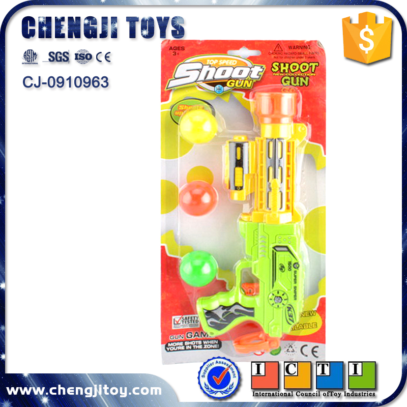 Children outdoor game plastic paint ball shooting gun toy