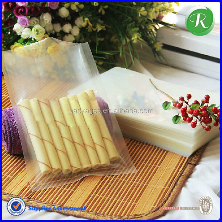 gravure soft plastic printed laminated packing materials plastic vacuum frozen food packaging bag
