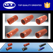 silicone heater hose/engine coolant hose/highly recommended bellow hose with 3 rings