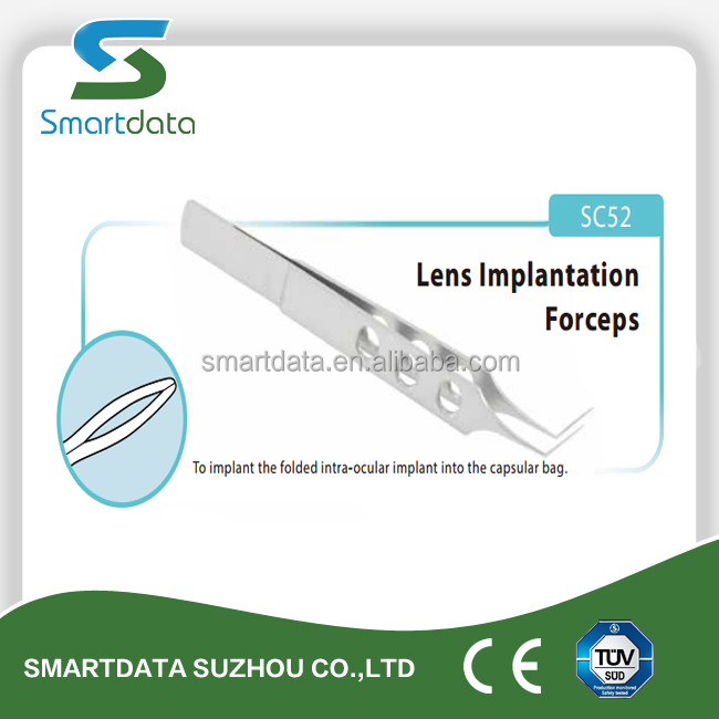 CE Marked Single Use ophthalmic surgical devices, Lens Implantation Forceps
