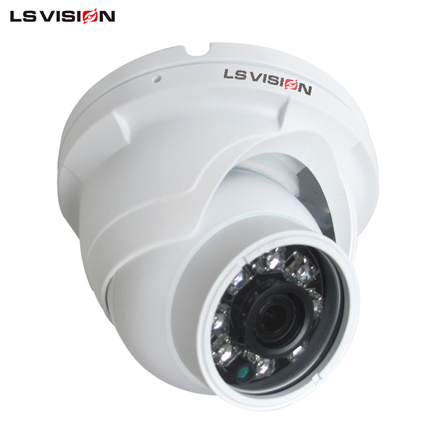 LS VISION Shenzhen Hotsale 1.3MP High P2P Home Security systems IP Dome Camera