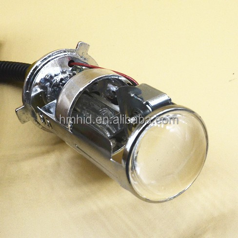 2015 new product 1.5 inch H4 h7 hid bi xenon hid projector lens light