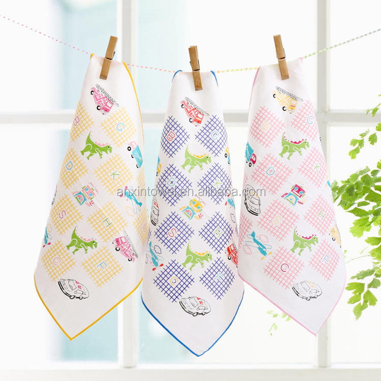wholesale high quality Organic bamboo baby washcloth