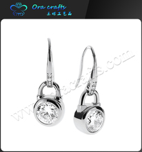 2015 Classic Jewelry 925 Sterling Silver Pearl Stud Earrings For Wommen