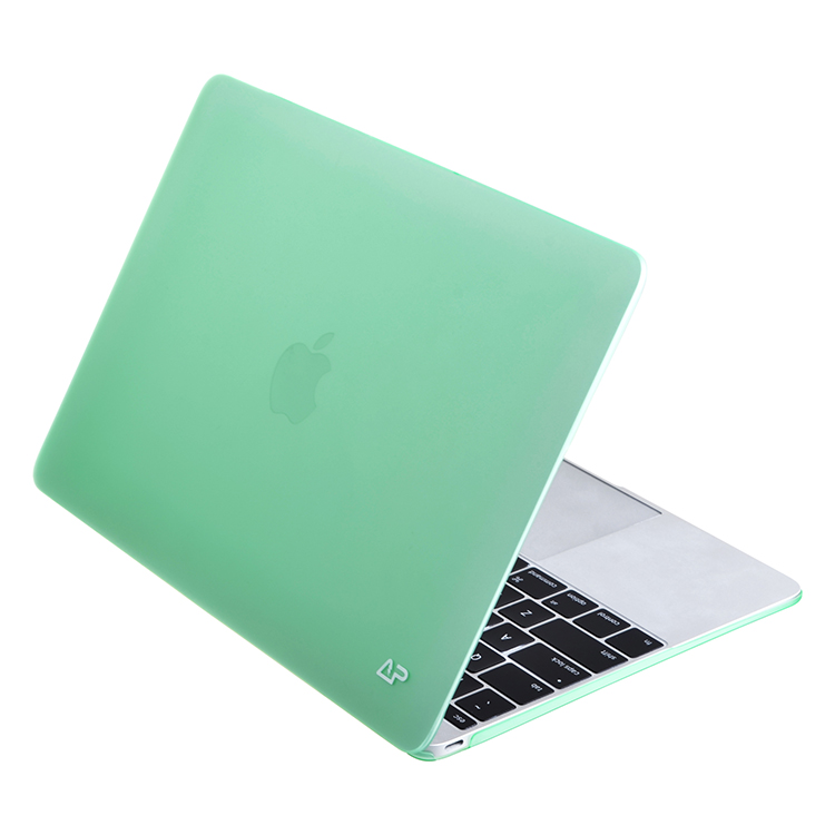 Green protective hard shell case for Macbook Air 12