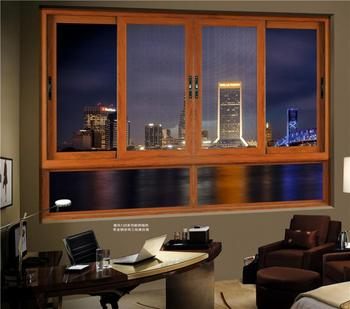 DAAN Australian Standard Aluminum Glass Sliding Window for hotel office